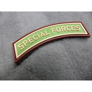 JTG - Special Forces Tab - Patch, multicam / 3D Rubber patch