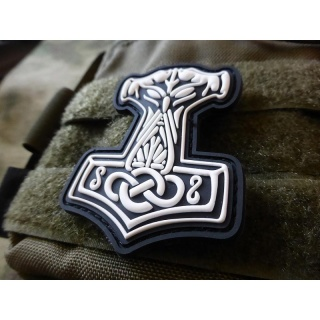 JTG  Thors Hammer Mjölnir Patch, swat  / JTG 3D Rubber Patch