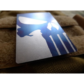 JTG  Titanium Punisher Patch, titangrau
