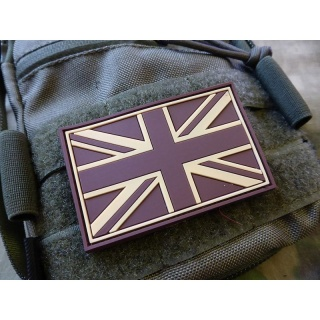 JTG - UK Flagge - Patch, darkdesert / 3D Rubber patch