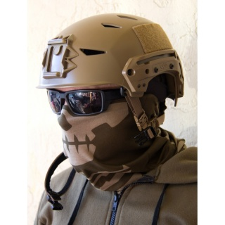 Mil-Spec Monkey Skull Mask Multi-Wrap, DustyBrown