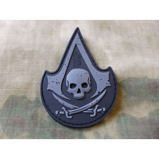 JTG  ASSASIN SKULL Patch, blackops / JTG 3D Rubber Patch