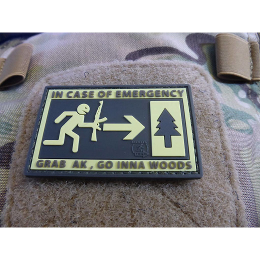 JTG - Emergency Patch, fullcolor / 3D Rubber patch