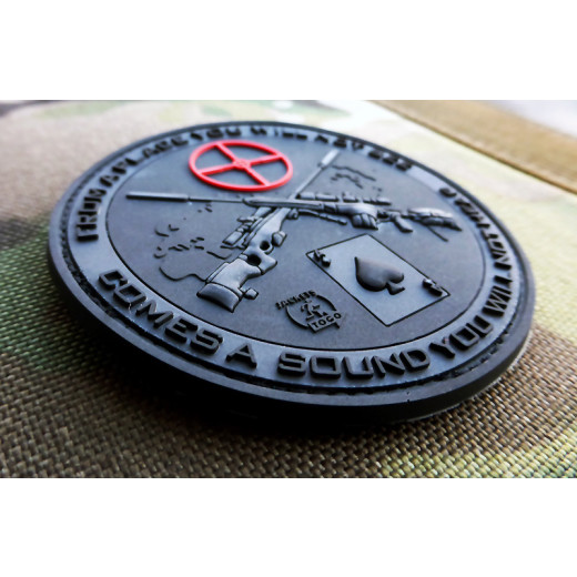 JTG Sniper Patch, blackops / JTG 3D Rubber Patch