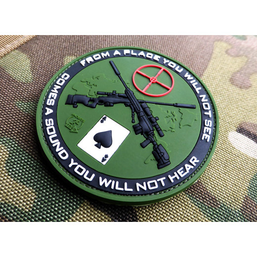JTG - Sniper Patch, forest / 3D Rubber patch