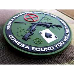 JTG Sniper Patch, forest / JTG 3D Rubber Patch