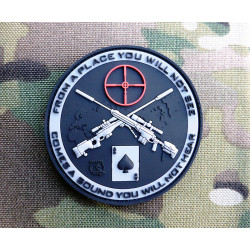 JTG Sniper Patch, swat / JTG 3D Rubber Patch