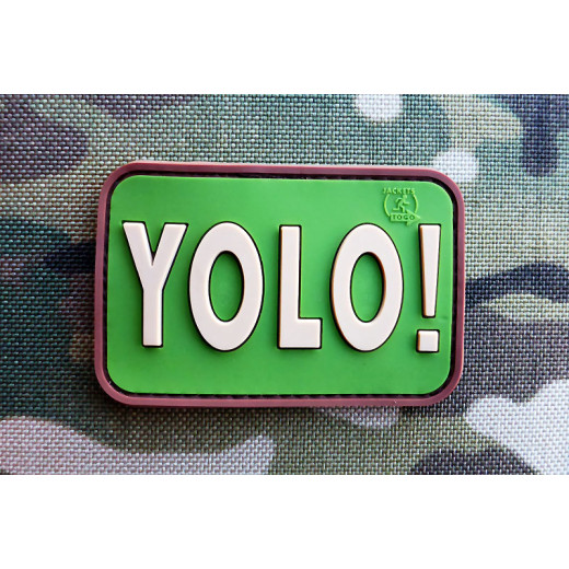 JTG - YOLO (You Only Live Once) Patch, multicam / 3D Rubber patch