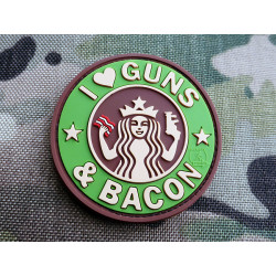 JTG - Guns and Bacon Patch, multicam / 3D Rubber patch