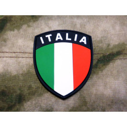 JTG - Italien Flagge - Krone - Patch, fullcolor / 3D...