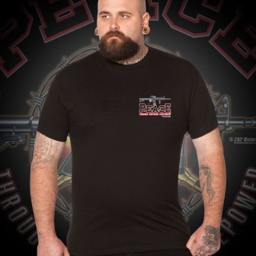 7.62 Design - Superior Firepower - T-Shirt, black