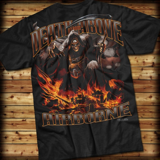 7.62 Design - Airborne Death From Above - T-Shirt, black
