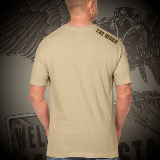 7.62 Design - Welcome To Afghanistan - T-Shirt, khaki