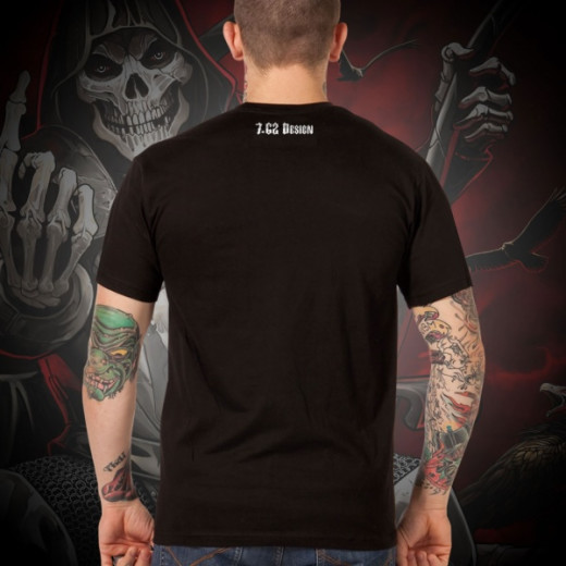 7.62 Design - Warlord - T-Shirt, black