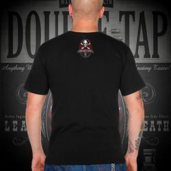 """7.62 Design - """"Double Tap"""" - T-Shirt, black"""