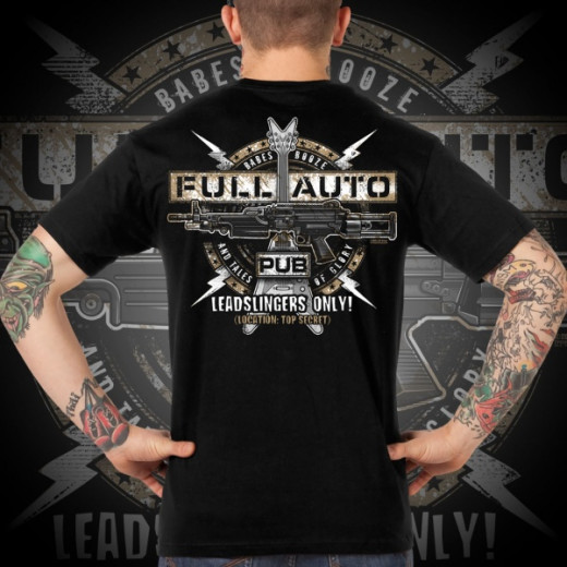 7.62 Design - Full-Auto Pub - T-Shirt, black
