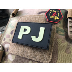 JTG - PJ - Pararescue Jumper - Patch, gid (glow in the...
