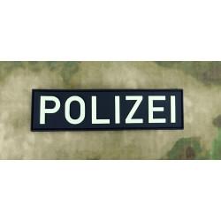 JTG Polizei Schriftzug Patch, gid (glow in the dark) / 3D...