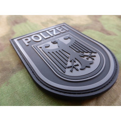 JTG Ärmelabzeichen - Bundespolizei - Patch, blackops / 3D...