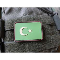 JTG - Türkische Flagge - Patch, multicam / 3D Rubber patch