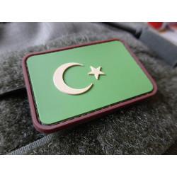 JTG - Türkische Flagge - Patch, multicam / 3D Rubber patch