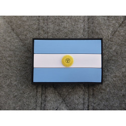 JTG - Argentinien Flagge - Patch / 3D Rubber patch
