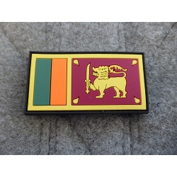 JTG - Sri Lanka Flagge - Patch / 3D Rubber patch