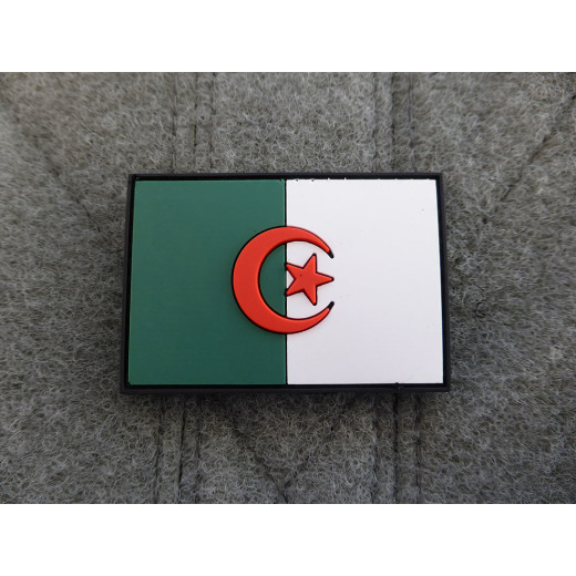 JTG - Algerien Flagge - Patch / 3D Rubber patch