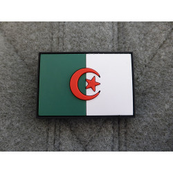 JTG - Algeria Flag Patch / 3D Rubber patch