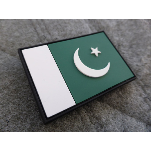 JTG - Pakistan Flagge - Patch / 3D Rubber patch