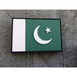 JTG - Pakistan Flag Patch / 3D Rubber patch