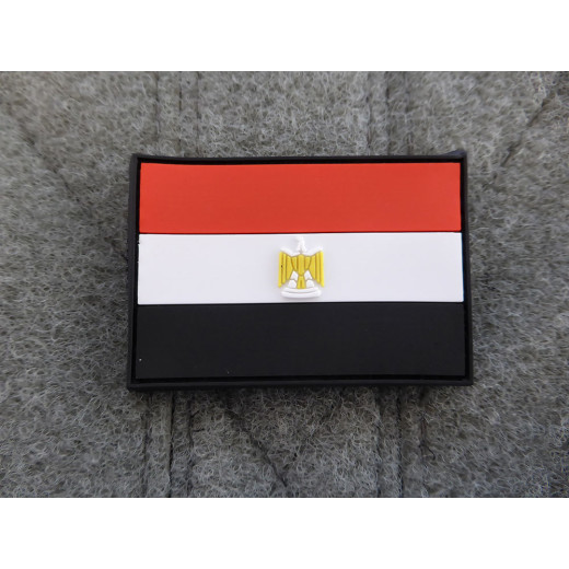 JTG - Ägypten Flagge - Patch / 3D Rubber patch