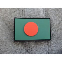 JTG - Bangladesch Flagge - Patch / 3D Rubber patch