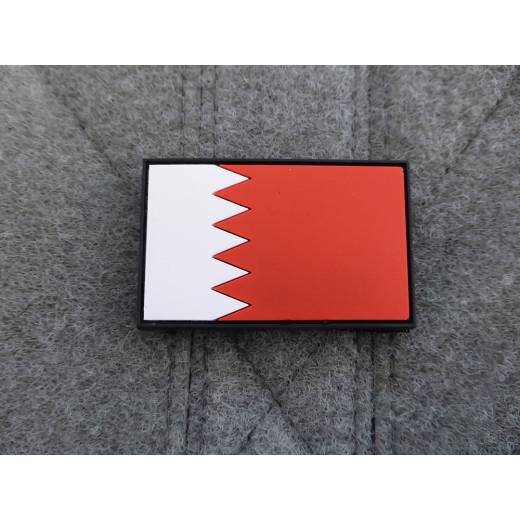 JTG - Kingdom of Bahrain Flag Patch / 3D Rubber patch