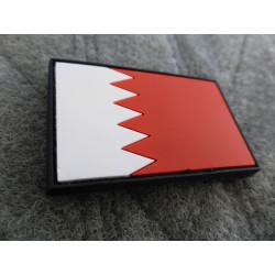 JTG - Königreich Bahrain Flagge - Patch / 3D Rubber patch