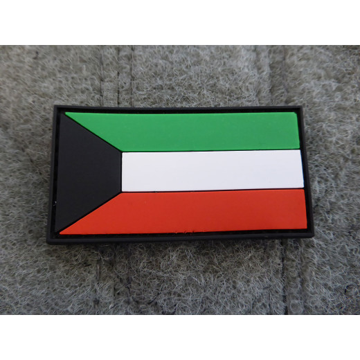 JTG - Kuwait Flagge - Patch / 3D Rubber patch
