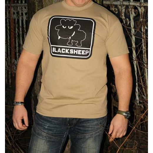 JTG - Little BlackSheep T-Shirt, khaki - Größe: S