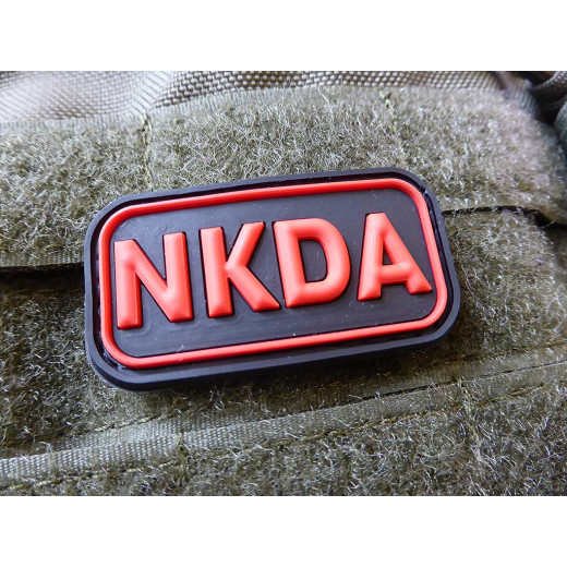 JTG - NKDA - No Known Drug Allergies - Patch, blackmedic / 3D Rubber patch