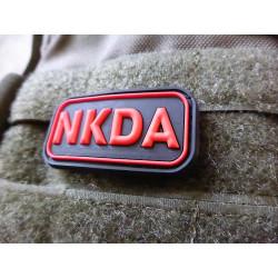 JTG - NKDA - No Known Drug Allergies - Patch, blackmedic / 3D Rubber patch