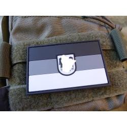 JTG German Flag Patch, large with German Eagle, grey / JTG 3D Rubber Patch