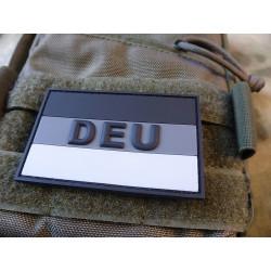 JTG Deutschlandflagge - Patch, groß mit DEU, grau /...