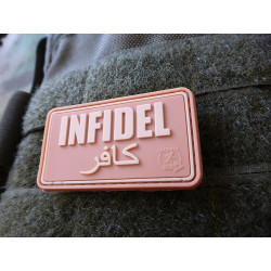 JTG - Infidel Patch, desert / 3D Rubber patch