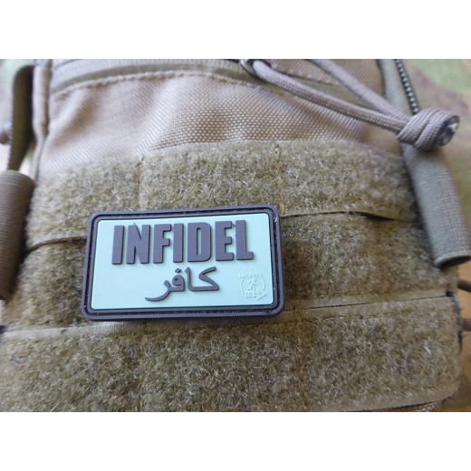 JTG - Infidel Patch, foliage / 3D Rubber patch