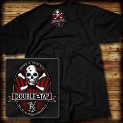 """7.62 Design - """"Double Tap"""" - T-Shirt, black - Größe: XL"""