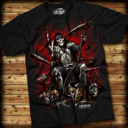7.62 Design - Warlord - T-Shirt, black - Size: M