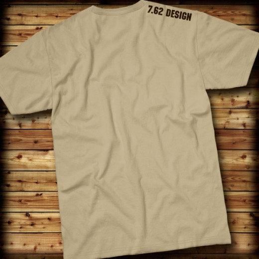 7.62 Design - Welcome To Afghanistan - T-Shirt, khaki - Größe: S
