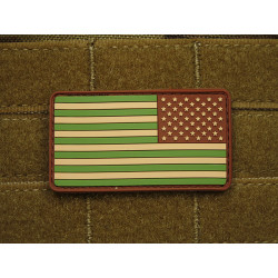 JTG - USA Flagge Reversed - Patch, multicam / 3D Rubber...