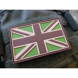 JTG - UK Flagge - Patch, multicam / 3D Rubber patch