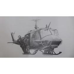 "Dick Kramer - Lithografie ""German Military Police"""