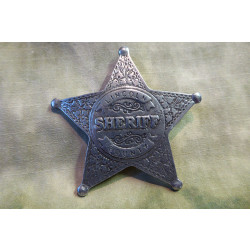 Old West Badges - Lincoln Country Sheriff
